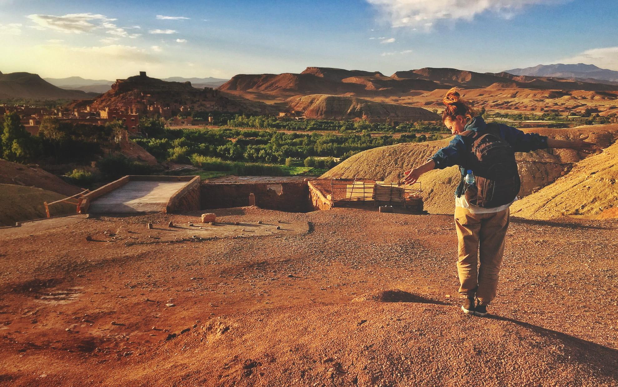 Aït Benhaddou, Maroko - Andyho cestopisy