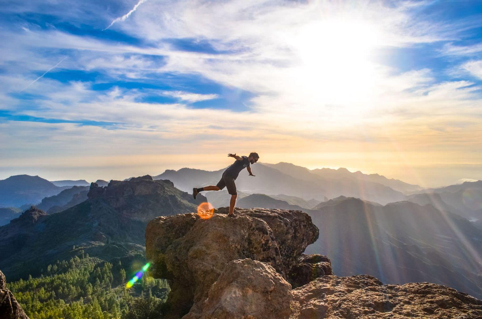 Andyho Cestopisy - západ slunce na Kanárských ostrovech