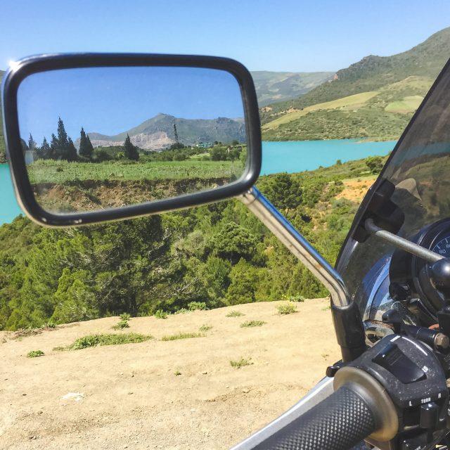 Marocká krajina - Motorkou po Maroku - Andyho Cestopisy