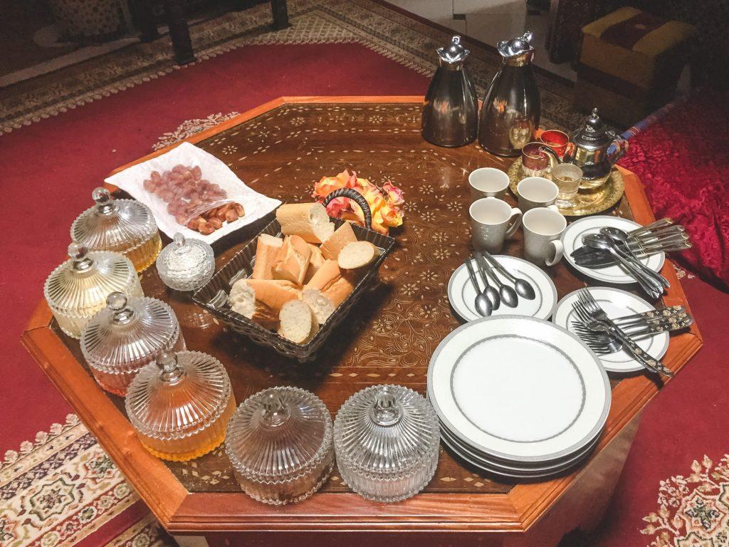 Snídaně - Maroko - Andyho Cestopisy