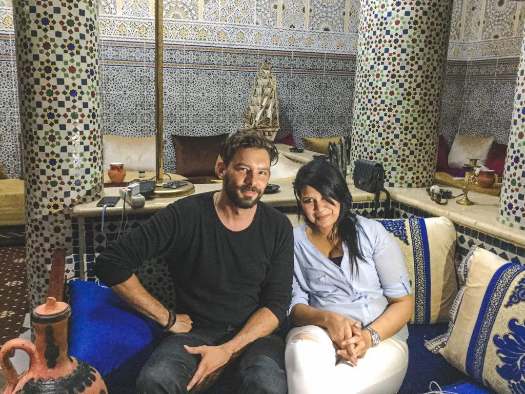 Andy a první nevěsta - Meknes, Maroko - Andyho Cestopisy