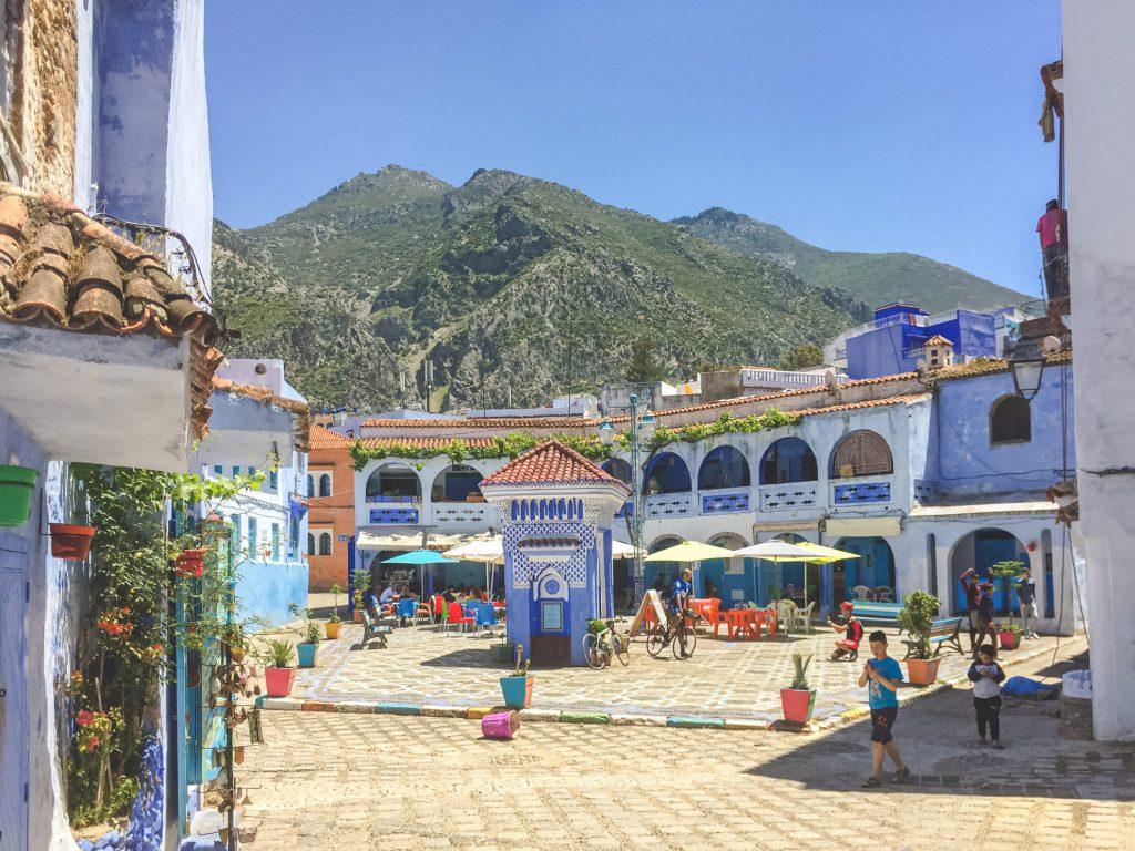 Chefchaouen, Maroko - Andyho Cestopisy